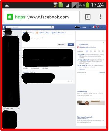 Facebook Loginbn B