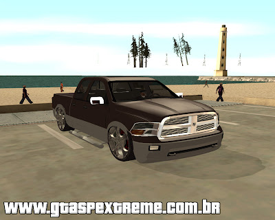 Dodge Ram 2010 para grand theft auto