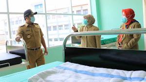 Walikota Tangerang Bersama Dinkes Kota Tangerang Cek Kesiapan Puskesmas Jurumudi Baru Sebagai Ruang Isolasi Covid19