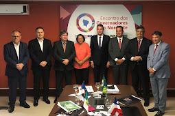 Belivaldo discute pautas de interesse dos estados com demais governadores do Nordeste