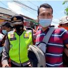 Dua Orang Diamankan Saat Jokowi Melintas