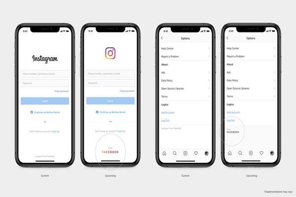 FACEBOOK يكشف عن شعار جديد للمساعدة في تمييزه عن ماركاته الأخرى