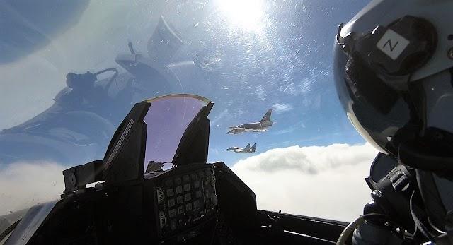 H Πολεμική Αεροπορία με την «Οχιά της Θράκης» στη Βουλγαρία... δείχνει πόσο δαγκώνει (6 ΦΩΤΟ)