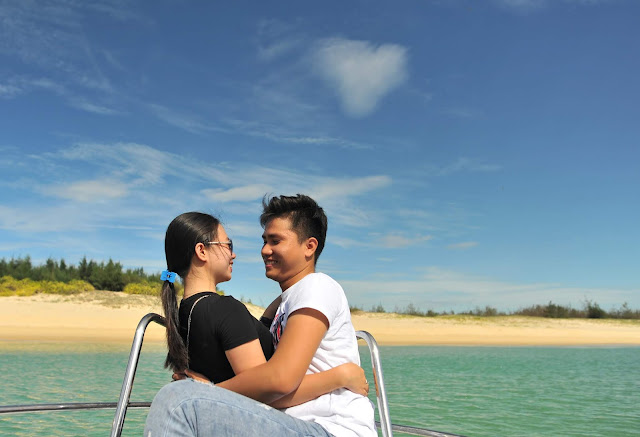 Bãi biển hoang sơ gần Hòn Yến