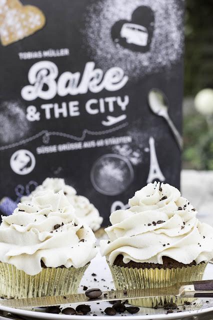 White Russian Cupcakes - Bake and The City - Der Kuchenbäcker - blv Verlag