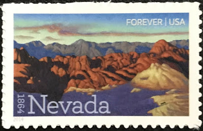 2014 USA Nevada Statehood Forever Stamp
