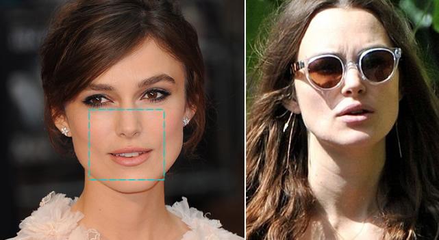 e93c585cb8be1 O ideal é usar armações ovaladas em material claro que ampliam a área dos  olhos. Esse modelo suaviza o rosto.