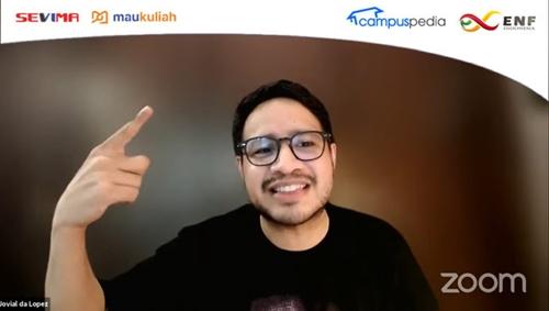 "Tips Tembus Beasiswa ala Youtuber ""Jovial da Lopez"" dan Para Influencer"