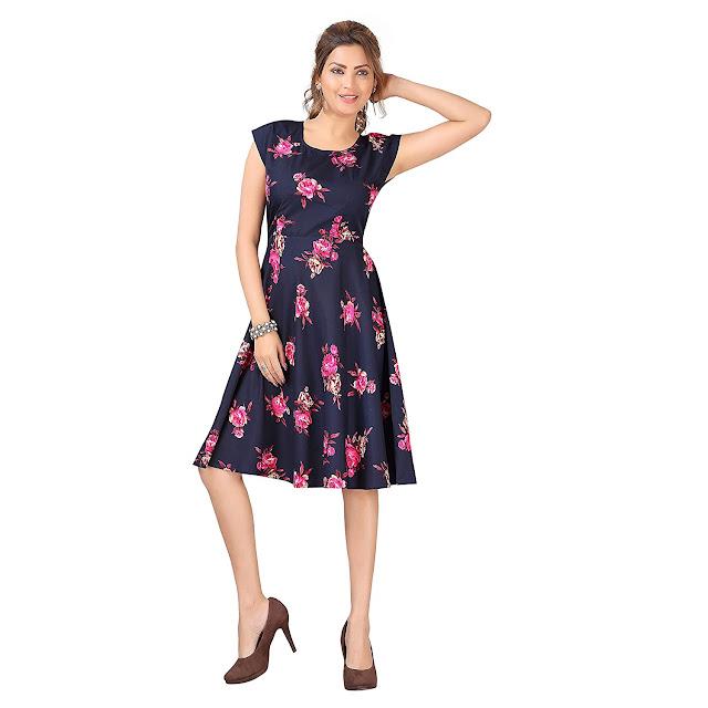 Knee length Dress for Women