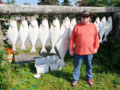 Paul had a Fun Day Halibut Fishing