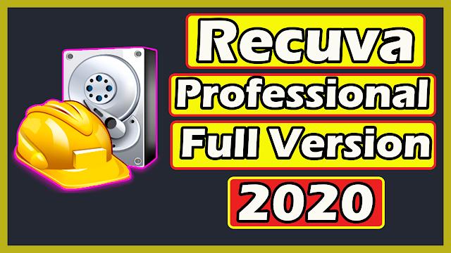 Recuva Professional Full Version 2020