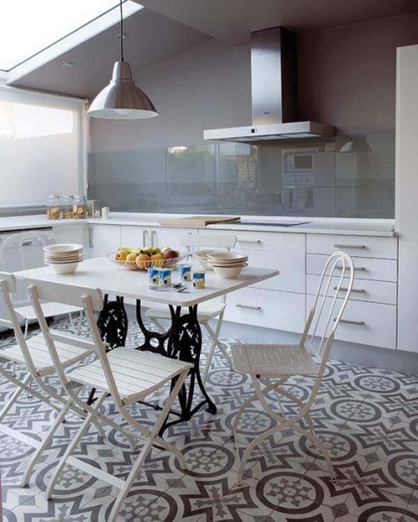 Ideas For Decorating With Cement Tiles or Hydraulic Tiles 7