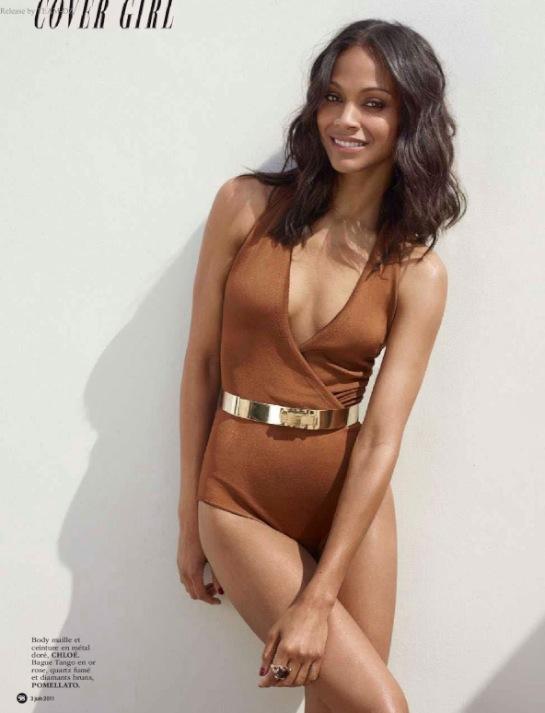 Zoe Saldana Sexy Photos
