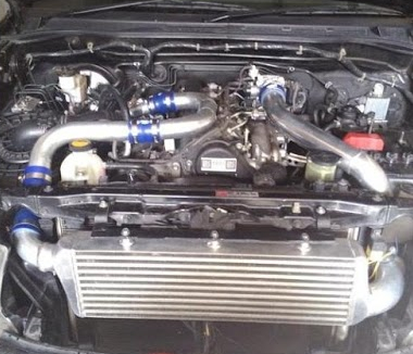 Memasang intercooler Toyota Fortuner