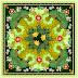Flower Print Scarf Textile Repeat Design 20087