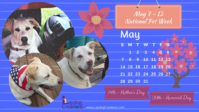 free printable desktop calendar rescue dogs pets