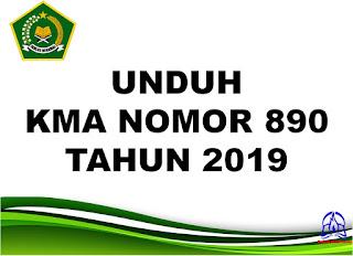 KMA Nomor 890 tahun 2019