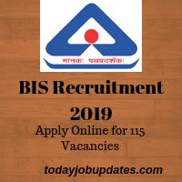 BIS Recruitment 2019