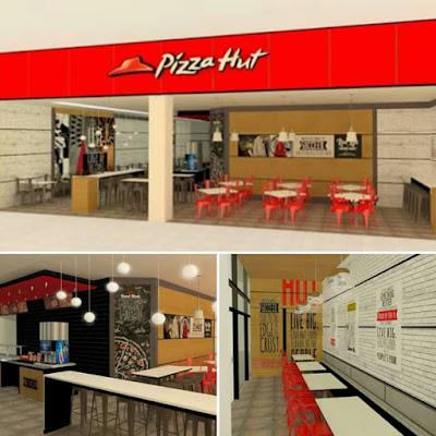 PIZZA HUT NOVO SHOPPING INAUGURAÇÃO
