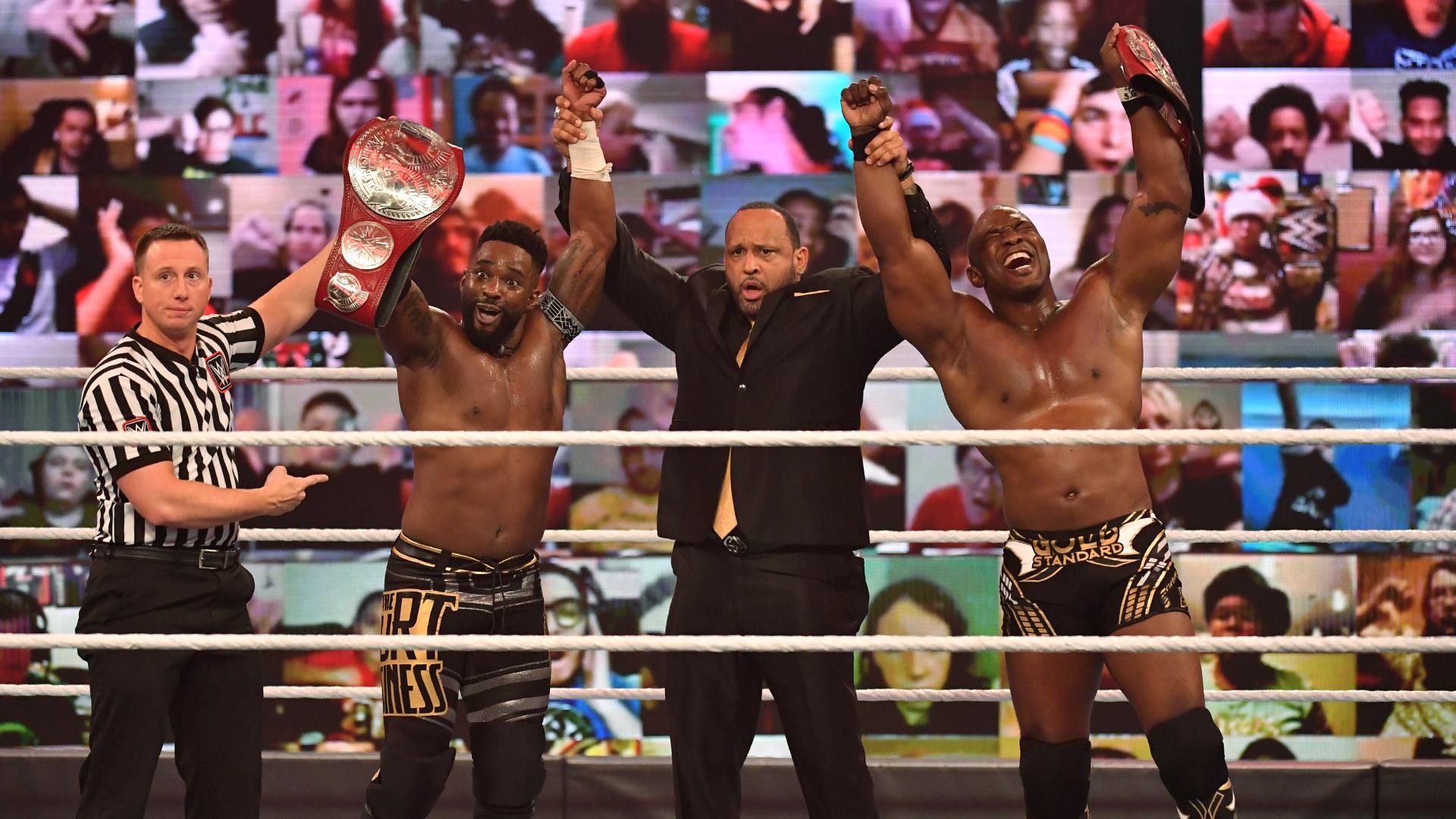 Cedric Alexander e Shelton Benjamin conquistam o RAW Tag Team Championship