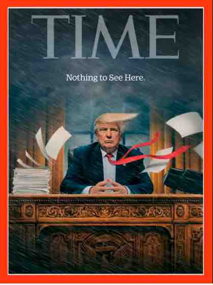 Time Magazine Cover - Nothing To See Here