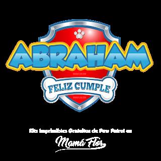 Logo de Paw Patrol: Abraham