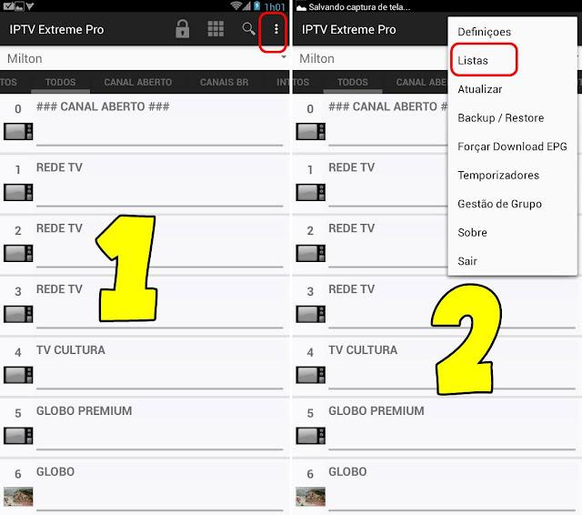 Adicionando Listas no IPTV Extreme Pro - Assista IPTV no Android + Listas de Canais
