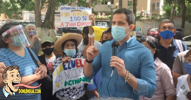 Guaidó se reúne con comunidades para promover su Consulta Popular