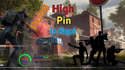 Pubg Play High Pin In Nepal