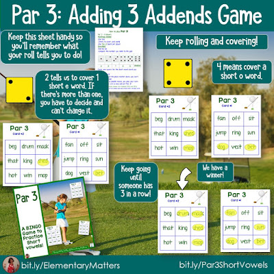 https://www.teacherspayteachers.com/Product/Short-Vowel-Sounds-Golf-Themed-BINGO-Game-278505?utm_source=post%2058b&utm_campaign=Par%203%20short%20vowels