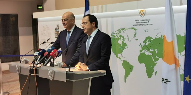 Ν. Δένδιας: Η Κύπρος δεν είναι μόνη