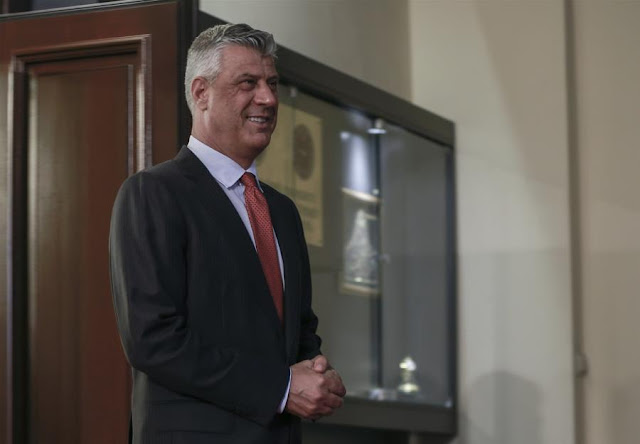 Στη Χάγη για εγκλήματα πολέμου ο Πρόεδρος του Κοσόβου