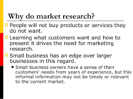 Do Research On Your Chosen Market!