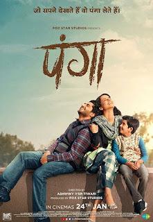 Panga (2020) Full Movie Watch Online Review