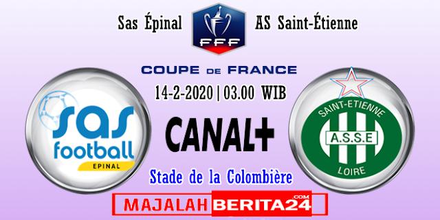 Prediksi SAS Epinal vs Saint Etienne