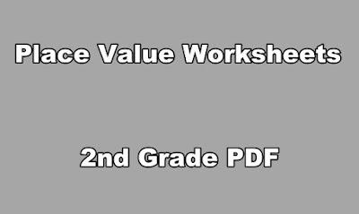 Place Value Worksheets 2nd Grade PDF