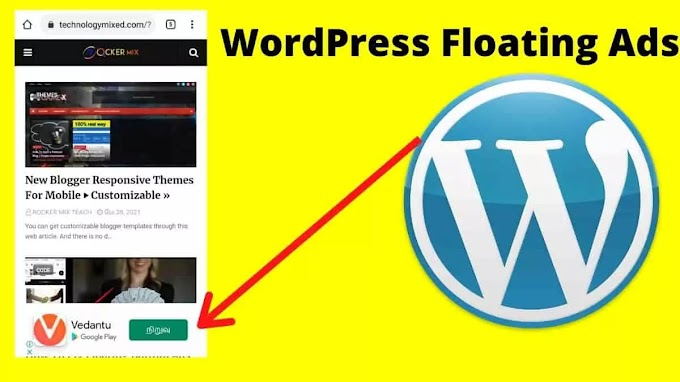 How To Fix WordPress Floating Bottom Ads • With Plugin Download »