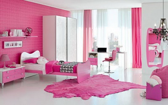 beautiful and nice bedroom for girl generation. Black Bedroom Furniture Sets. Home Design Ideas