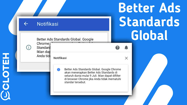 Notifikasi Better Ads Standards, apa Maksudnya?
