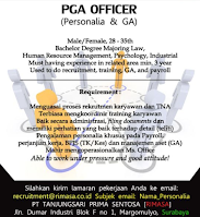 Open Recruitment at PT. Tanjungsari Prima Sentosa (Rimasa) Surabaya Februari 2021