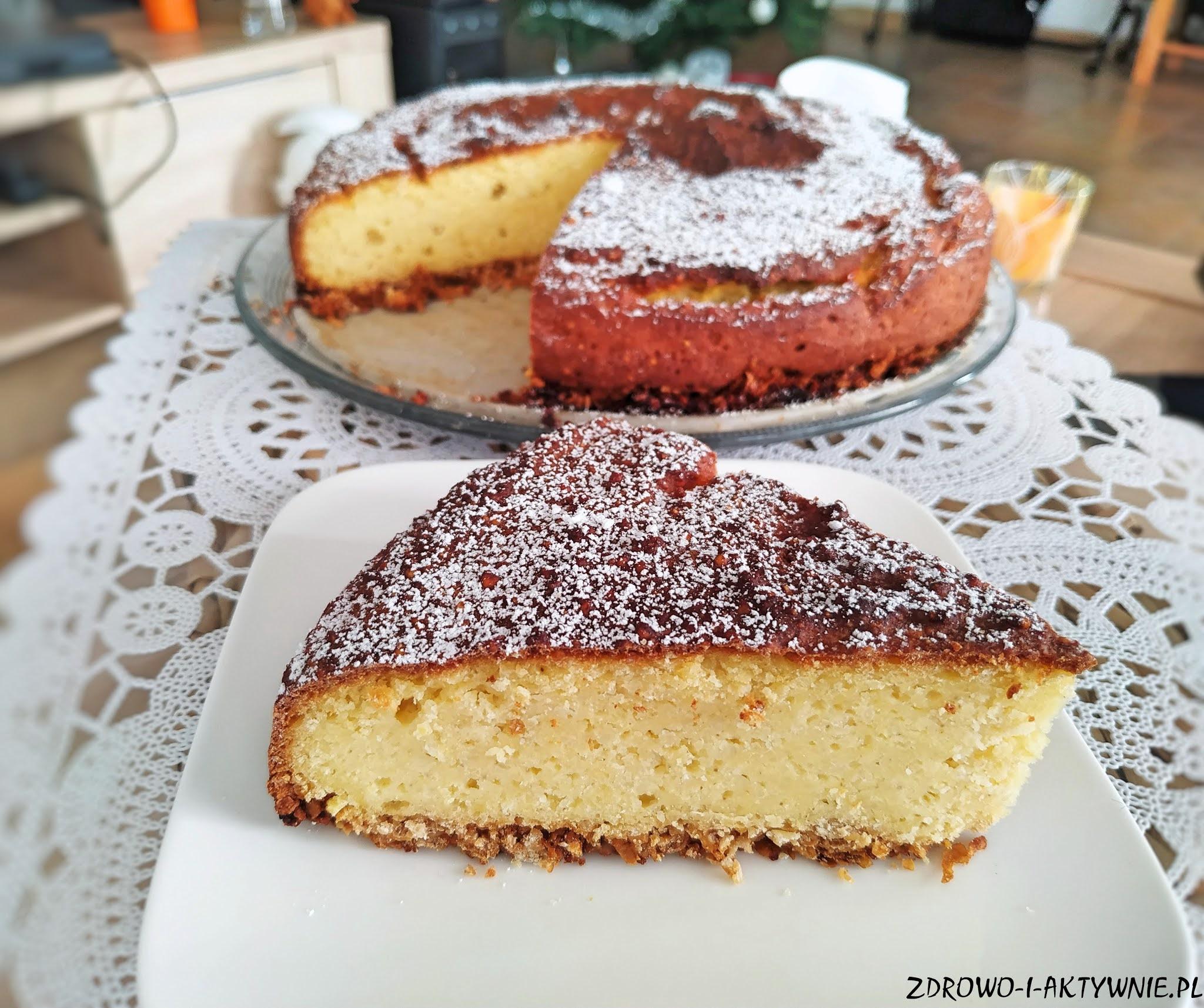 Waniliowe ciasto jaglane