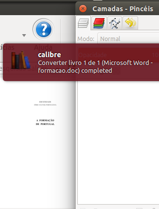 Calibre book converted