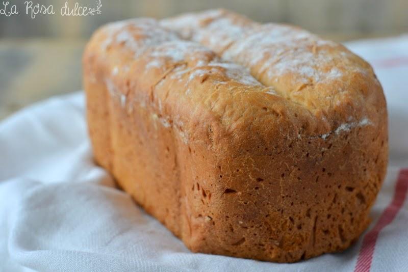 Pan de cebolla en panificadora