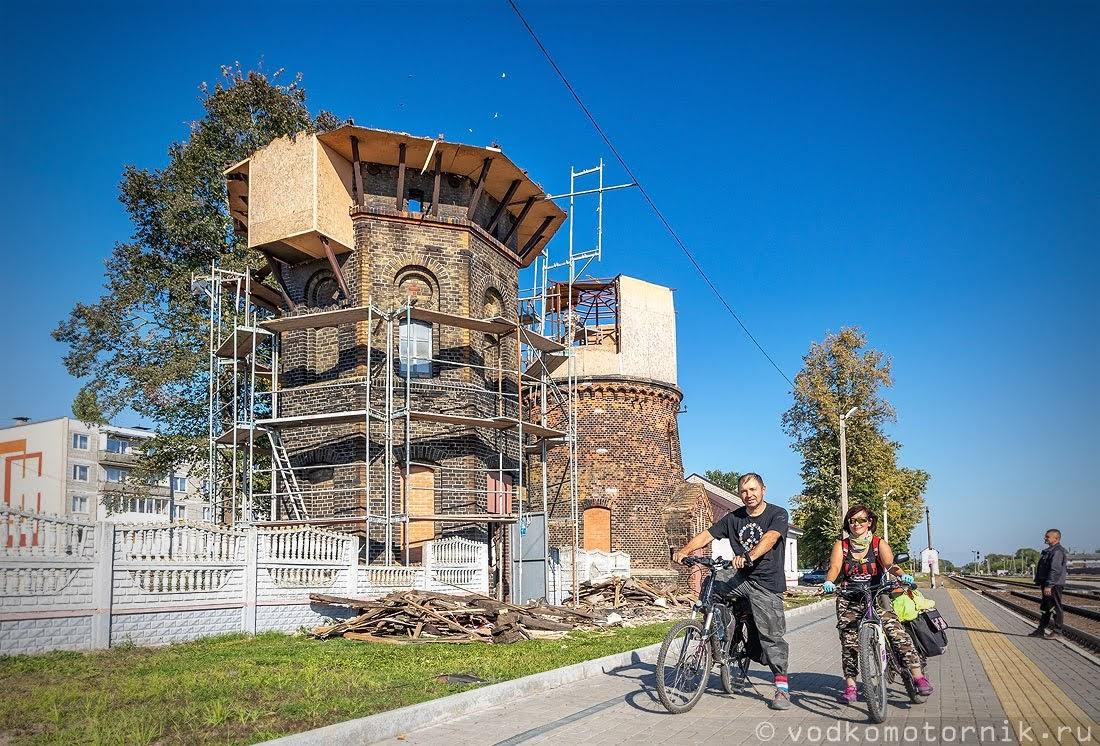 Водонапорные башни Гусев - на реконструкции