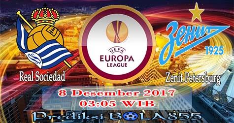 Prediksi Bola855 Real Sociedad vs Zenit St. Petersburg 8 Desember 2017