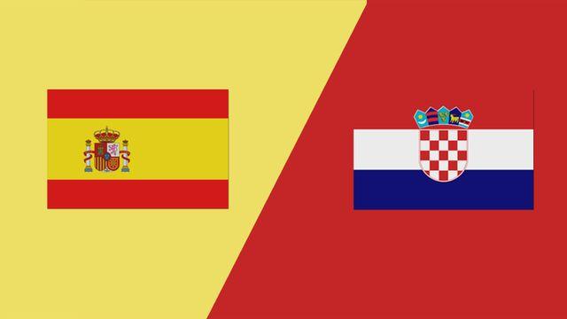 مشاهدة مباراة اسبانيا وكرواتيا اليوم