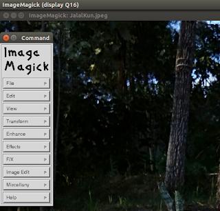 Command Tool di ImageMagick