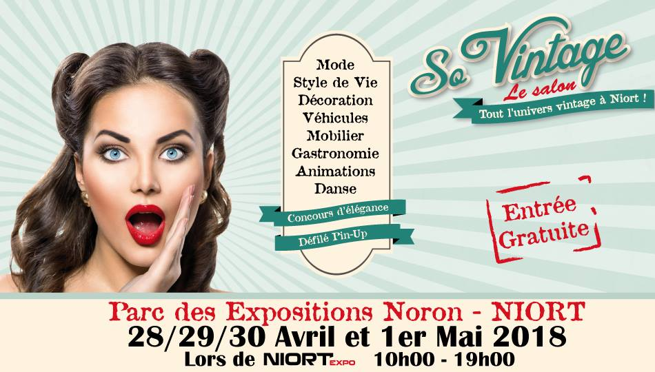 salon so vintage à Niort 2018