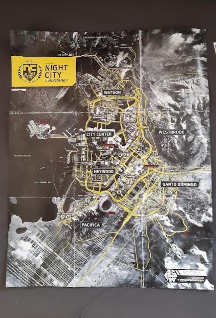 Map Cyberpunk 2077
