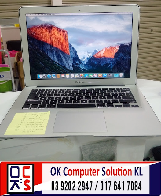 [SOLVED] KEYBOARD MAC AIR A1369 | REPAIR MAC TAMAN CONNAUGHT 3